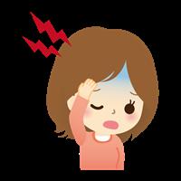 「片頭痛」の画像検索結果